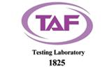 TAF Testing laboratory - 1825
