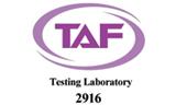 TAF Testing laboratory - 2916